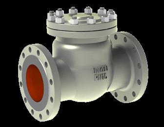 Cast check valve