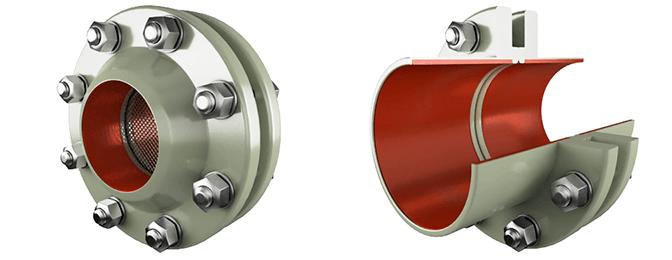 Изолирующее фланцевое соединения ИФС и СЗК